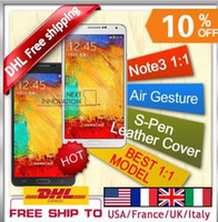 "5.7 Android 1G Now Android 4.3 MTK6589 phone - octa MTK6582 5.7"" 1G Ram + Free note 3 flip leather case MTK6589T core N9000 Note 3 phone Note3 Phone"