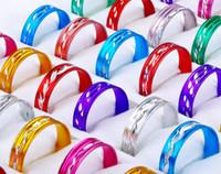 Wholesale Hot Jewlery Rings Fashion Jewelry Mix Aluminium Rings Fashion Jewelry RA05