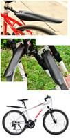 Wholesale 10pcs Mountain Bike Bicycle Front Rear Black Tire Mudguards Mud Guard Fender Set c11