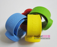 Jelly, Glow Bohemian Unisex High effective snap silicone insect repellent bracelet
