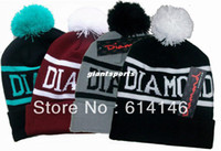 Wholesale 2014 New Fashion Bigbang GD Diamond Supply Co Beanie Winter Hat Beanie Wasted Beanie Supply Beanies Brand Snapback Caps football cap