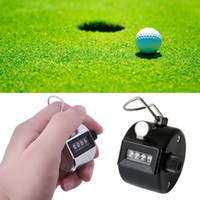 Wholesale one Golf Handheld Manual Digit Number Clicker Tally Counter
