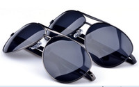 Wholesale Fashion Polarized sunglasses men Classic men s glasses riding wind mirror sun glasses