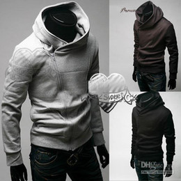 Wholesale Abar Hot NEW Mens zip slim designed Hoodie Jacket Top Coat M L XL XXL