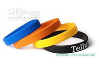 Wholesale Silkscreen Silicone band Custom hand ring promotional band