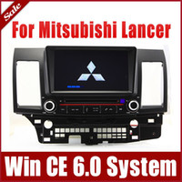 Wholesale 8 quot Car DVD Player GPS Navigation for Mitsubishi Lancer with Navigator Radio Bluetooth TV SD USB AUX G Map Auto Stereo Video Audio