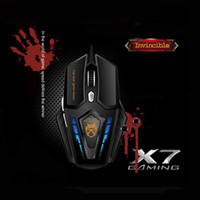 Wholesale VP X7 D Buttons DPI Super Laser Gaming Mouse USB Wired for PC Computer Gamer