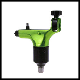 Wholesale Newest Green Color Spektra halo Style Rotary Tattoo Machine Gun both for Shader Liner total have Colors to choose