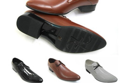 Wholesale NEW HOT style High quality pu leather cusp shoes dress shoes men s casual shoes groom wedding shoes HM1019