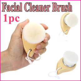 Wholesale Hot Sale Soft Facial Brush Deep Wash Cleansing Face Clean Brush Cleaning Makeup Removal Skin Pore Cleanser Care