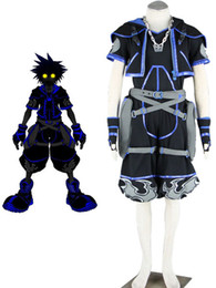 Wholesale Kingdom Hearts Anti Sora Cosplay Costume uchiha u5 TG