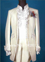 Actual Images Cotton Suits free shipping WHITE design groom VEST\Custom Groom WEAR Tuxedos Groomsmen Men Wedding Suits Best man Suits man wedding DRESS