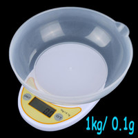 Wholesale Digital Electronic Kitchen Scale kg g g Food Parcel Weighing Balance with Bowl