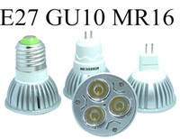 Wholesale High Power CREE GU10 W V V Dimmable led Light lamp led Bulb led spotlight