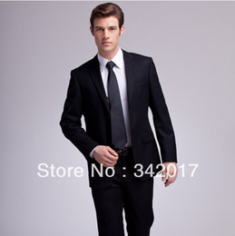 Wholesale wedding the groom wear evening dress custom cheap high quality men s evening vest suit black color clothes