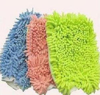 Cheap 2012 HOT! Microfiber Kitchen Car Cleaning cloth Wipe Gloves & Color send by random