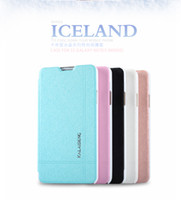 For Samsung TPU Yes [Supernova sale] KALAIDENG fresh feeling Cover Case for Samsung Galaxy note3 N9000 mtk6589t ice crystal Flip PU leather case