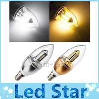 Neuf Led E14 6W ampoules lumière bougie lampe haute puissance 32pcs 3014 SMD led projecteurs 500 lumens/chaud blanc 110-240V CE ROHS