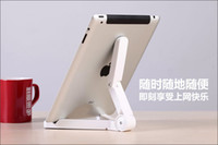 Wholesale DHL Universal Portable Fold up Stand Holder for Apple iPad Mini Kindle Fire Galaxy Tab5