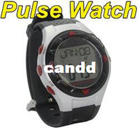 Wholesale NEW waterproof Pulse Heart Rate counter Calories Monitor Sport Wrist Watch