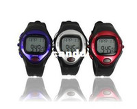 Wholesale Calorie Counter Pulse Heart Rate Monitor Stop sport Watch Waterproof with Calendar Function PC