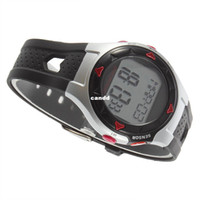 Wholesale 1pcs Waterproof Pulse Heart Rate Monitor Wrist Watch Calorie Counter Outdoor Cycling Sport Exercise