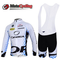 Wholesale New Style ORBEA Cycling Jerseys Bicycle Bodysuit Comfortable Outdoor Tight Clothes Soft Long Sleeve Cycling Tops with Bib Shorts For Sale