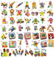 jouets Lamaze Jouet crèche avec hochet de dentition infantile précoce Toy développement poussette musique Baby doll jouets <b>Lamaze Cloth</b> Livre Livres