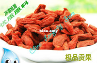 Wholesale Supreme Organic Goji Berry Wild Top Lycii Wolfberry g