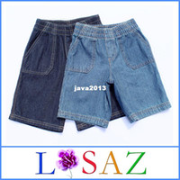 Boy Summer 100% Cotton Baby Boy Jeans For Summer Cowboy Short Jeans Kids Denim Pants