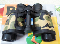 Wholesale At high magnification Hd camouflage binoculars High powered night vision binoculars Camouflage blue film