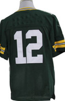 packer jersey - Packers jerseys Aaron Roogers Green American Football Jerseys Elite embroidered logo size