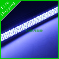 White 12V 2013 10pcs Ultra Slim Aluminum Housing 6W Car LED Daytime Running Light DRL Driving Lamp