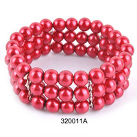 Wholesale Beaded Necklaces Fashion Glass Beads And Pearls Strung Necklace