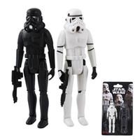 Wholesale Star Wars White amp Black Stormtrooper Authentic PVC Action Figure Set of pc