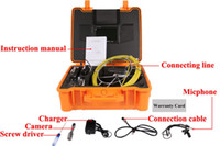 abs drains - Shipping Free m PD710DK Drain Inspection System With Durable ABS Carry Case With MM Camera