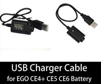 Charger wholesale electronic lots - EGO USB Charger for Ego T E Cigarette Charger Healthy E Cigarette EGO Charger V mAh DHL
