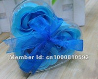 Wholesale Soap Flower Gift Set Handmade Rose Petals Flower Paper Soap