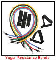 Wholesale High quality in set Resistance Bands Resistance band Elastic band exercise band fitness yoga pilates