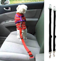 adjustable seat belts - S5Q Dog Pet Safety Seat Belt For Car Van Lock Adjustable Lead Restraint Chain AAAARY