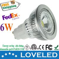 Wholesale led manufacturer CE ETL cETL w replace w halogen Free Fedex gu10 par20 cob led bulb dimmable k hottest