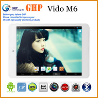 Wholesale 7 quot Tablet PC Vido M6 Dual Core GHz IPS Screen Laptop Gb RAM Gb ROM Android Dual Camera Support GPS Bluetooth Wifi