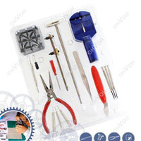 Wholesale S5Q in1 PC Watch Repair Pin Strap Remover Opener Screwdriver Tool Kit Set New AAAAPM