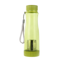 Wholesale 500ML Coloful Tea Bottle Travel Drinking Water Plastic Cups Sport Water Bottle Mug