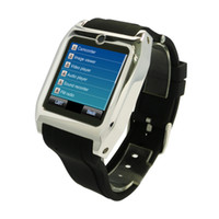 Single SIM GSM850 with Bluetooth New 3g Smart Touch Screen Watch Phone Tw530 -thin Java Bluetooth Sync to Smart Android Phone Camera Gprs Mp3 Mp4 Email free shipping