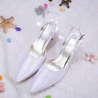 Wholesale Colors Discount Fashion Shoes size Pointy Pumps Formal Shoes for Women Wedding Bridal