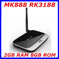 Wholesale Latest K R42 MK888 RK3188 Quad Core TV Set Top Box Android Mini PC GB RAM CS918 AV out RJ45 External Antenna