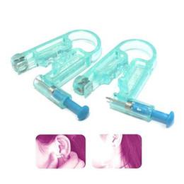Wholesale S9Q New Healthy Asepsis Ear Body Studs Earring Piercing Gun Pierce Mackup kit AAAARO
