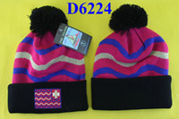 Wholesale New arrival Pink Dolphin Beanies with Pom percent acrylic pink dolphin beanie hat hats with tags red black D6224