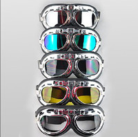 Wholesale High quality motorcycle goggle Motorcycle Scooter Steampunk Cruiser Helmet Goggle Eyewear